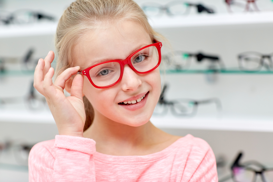 What to look for when buying glasses for your child
