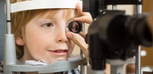 paediatric eye doctor livingston