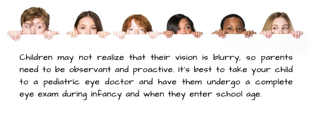 pediatric eye doctor for astigmatism